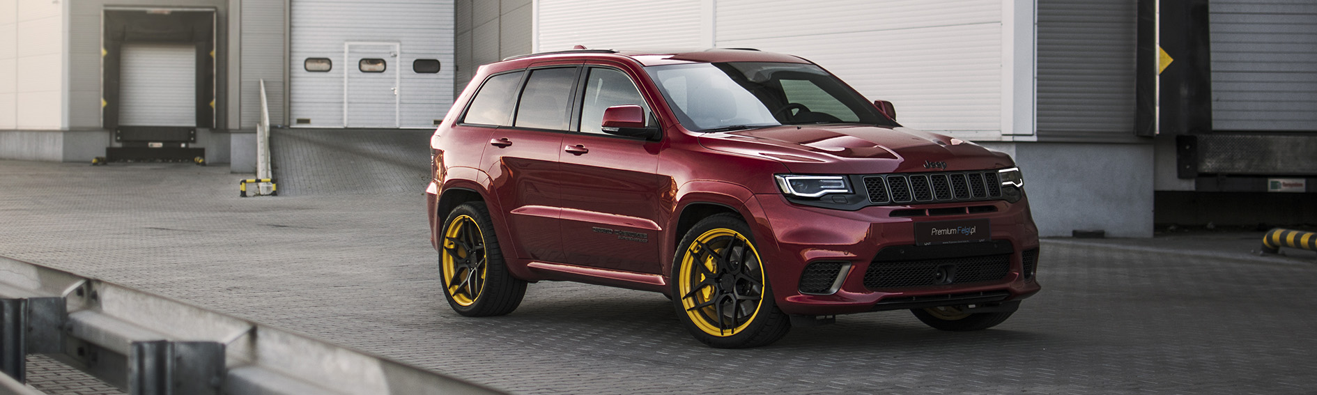 "Customer car gallery - wheels for Jeep SRT Trackhawk | BC Forged HT53S | 22"" - PremiumFelgi"